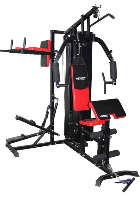 Гладиатор със степер и стойка за кофички + 70 кг тежести TS 3331