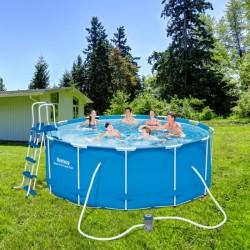 Сглобяем басейн Bestway 56420 366 x 122 cm