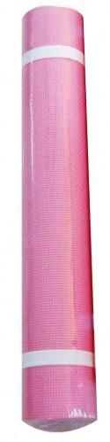 Постелка за йога и тренировка, цвят РОЗОВ