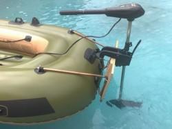 Извънбордов ел. мотор за надуваема лодка Bestway 65045