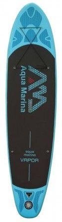 Надуваем SUP борд или падълборд и каяк VAPOR на AQUA MARINA 300 х 76 х 12 см. + гребло 2 в 1