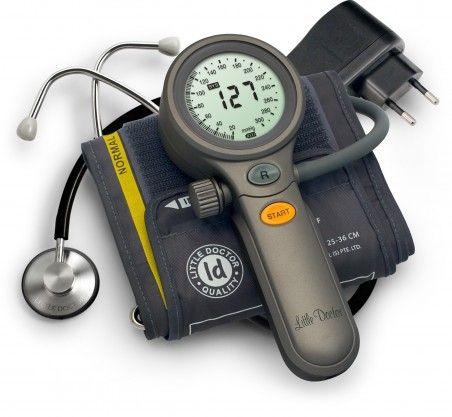 Професионален апарат за измерване на кръвно налягане с електроника Little Doctor-20