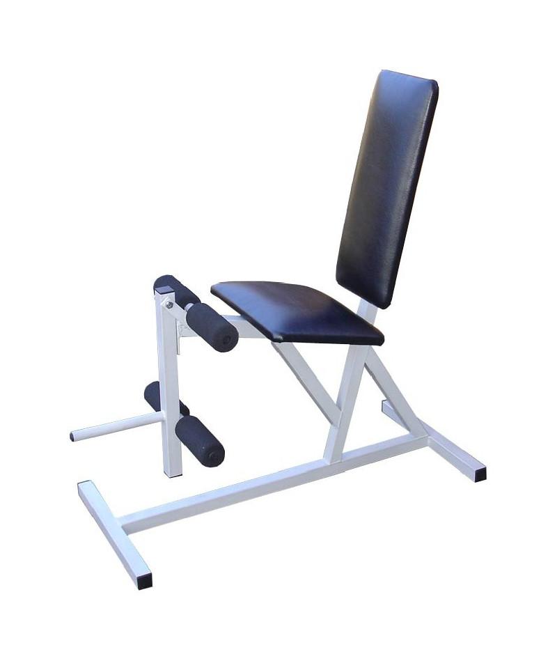 Лег екстензия за свободни тежести. Стандартна секция за работа с крака.