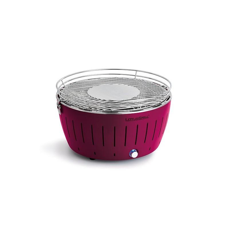 LotusGrill XL барбекю сливово лилаво