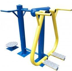 Комбиниран уред за външен фитнес за бедра и кръст