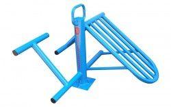 Външен фитнес уред за коремни преси и гръбни мускули