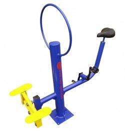 Степер с велоергометър за външен фитнес