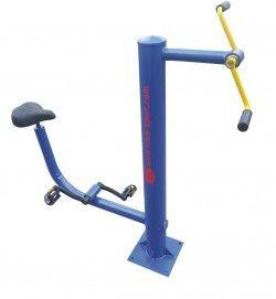 Велоергометър за ръце и крака на открито
