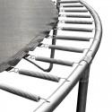 Батут комплект Monky 305 см. Комплект батут с подсилена конструкция, предпазна мрежа и стълба