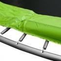 Батут комплект Monky 244 см. Комплект батут с подсилена конструкция, предпазна мрежа и стълба
