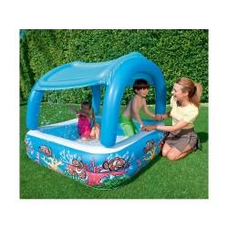 Надуваем детски басейн с тента Bestway 52192
