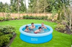 Надуваем басейн Bestway 57252 диаметър-198 x 51 cm