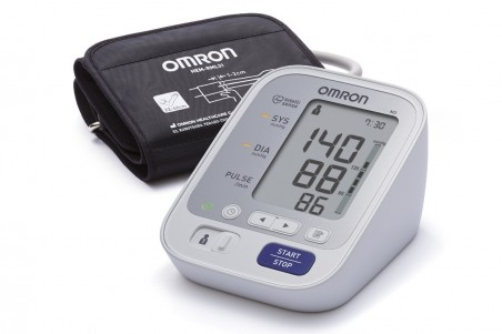 Апарат за кръвно налягане над лакътя – Omron M3 с твърд маншет