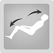 Stretch (Разтягане) - Един от най- често прилаганите видове масаж. Помага за облекчаване на умората, подуването и болката в мускулите, има терапевтичен и успокояващ ефект.