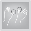 Kneading - Кожата и мускулите се захващат или между палеца и пръстите, или с две ръце и се разтриват с кръгообразни движения