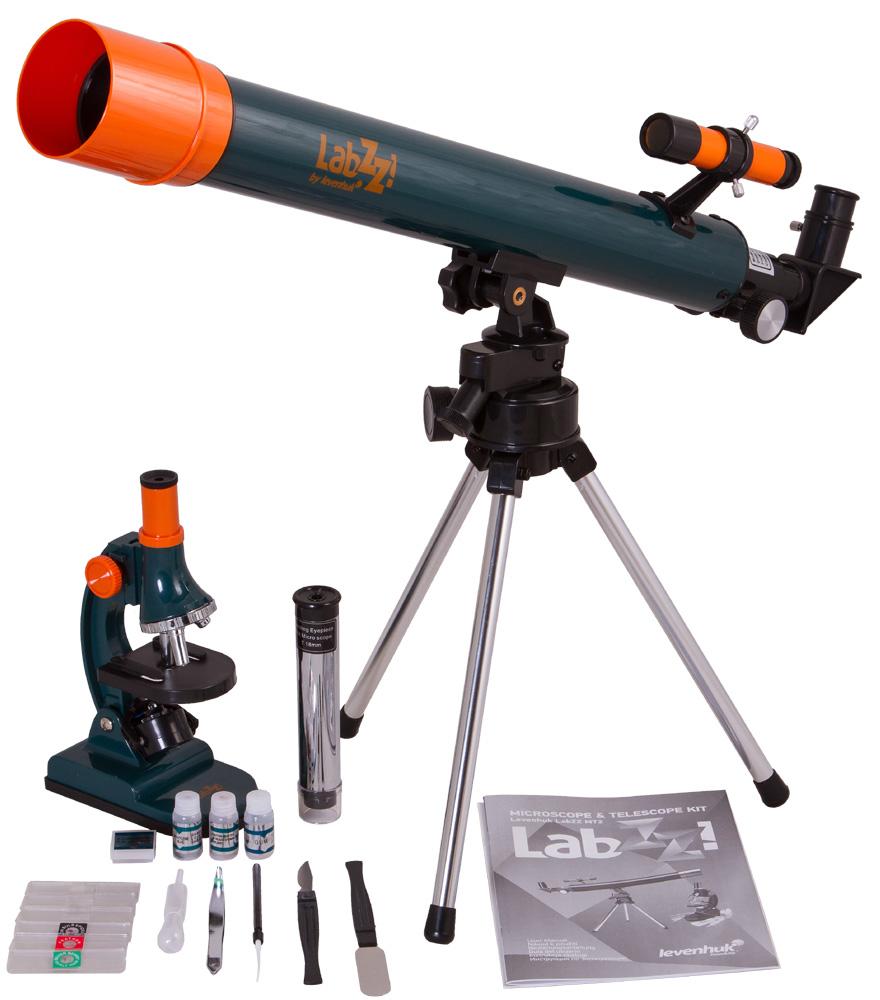 Комплект микроскоп и телескоп Levenhuk LabZZ MT2Комплект микроскоп и телескоп Levenhuk LabZZ MT2